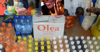 Malgré la maladie de la diva Coumba Gawlo Seck,le fan club Gawlo a distribué des denrées alimentaires au profit des daaras et nécessiteux